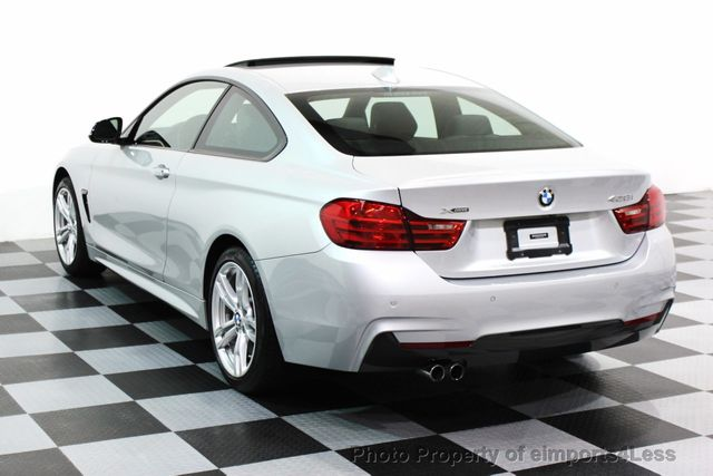 2014 BMW 4 Series CERTIFIED 428i xDRIVE M SPORT AWD COUPE NAVI - 16007905 - 27