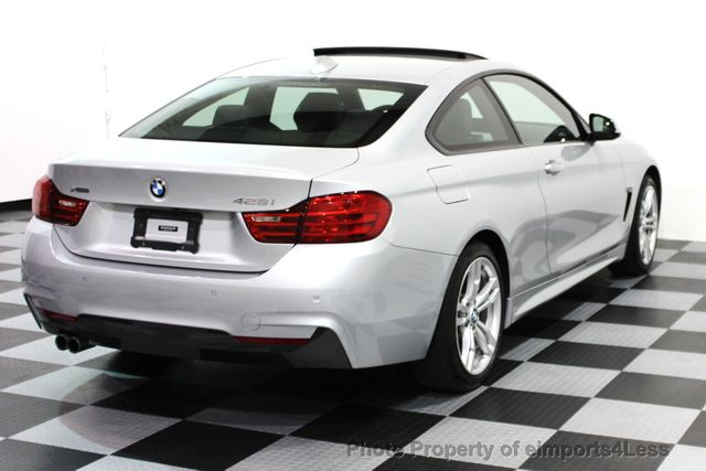 2014 BMW 4 Series CERTIFIED 428i xDRIVE M SPORT AWD COUPE NAVI - 16007905 - 28
