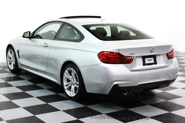 2014 BMW 4 Series CERTIFIED 428i xDRIVE M SPORT AWD COUPE NAVI - 16007905 - 2