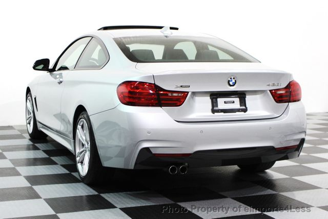 2014 BMW 4 Series CERTIFIED 428i xDRIVE M SPORT AWD COUPE NAVI - 16007905 - 40