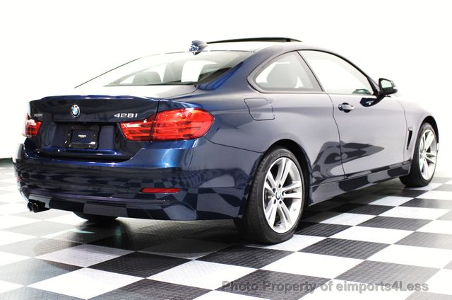 2014 BMW 4 Series CERTIFIED 428i xDRIVE SPORT PACKAGE AWD NAVIGATION - 16518994 - 17