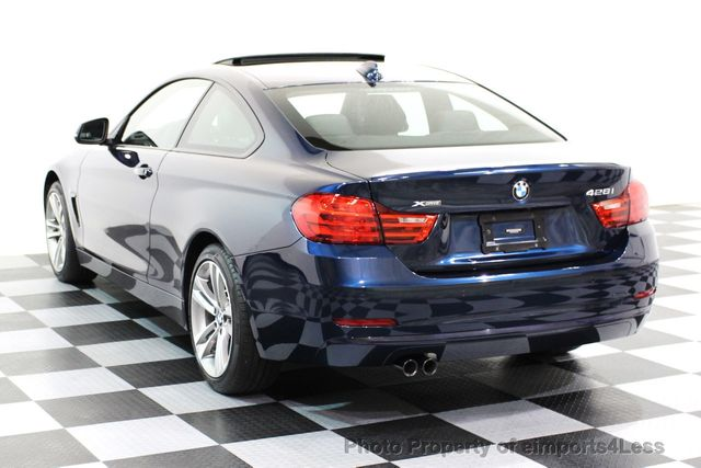 2014 BMW 4 Series CERTIFIED 428i xDRIVE SPORT PACKAGE AWD NAVIGATION - 16518994 - 27
