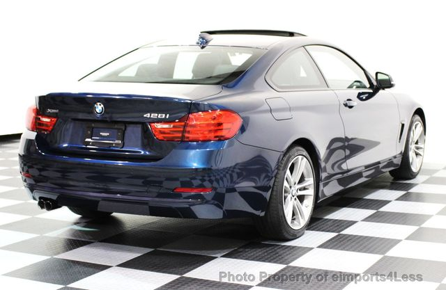 2014 BMW 4 Series CERTIFIED 428i xDRIVE SPORT PACKAGE AWD NAVIGATION - 16518994 - 43