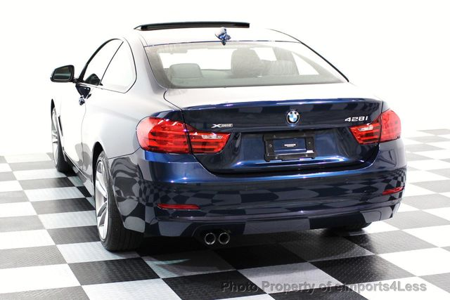 2014 BMW 4 Series CERTIFIED 428i xDRIVE SPORT PACKAGE AWD NAVIGATION - 16518994 - 52
