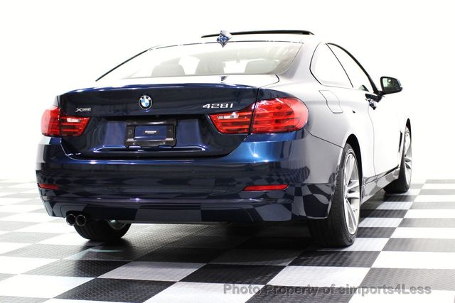2014 BMW 4 Series CERTIFIED 428i xDRIVE SPORT PACKAGE AWD NAVIGATION - 16518994 - 53