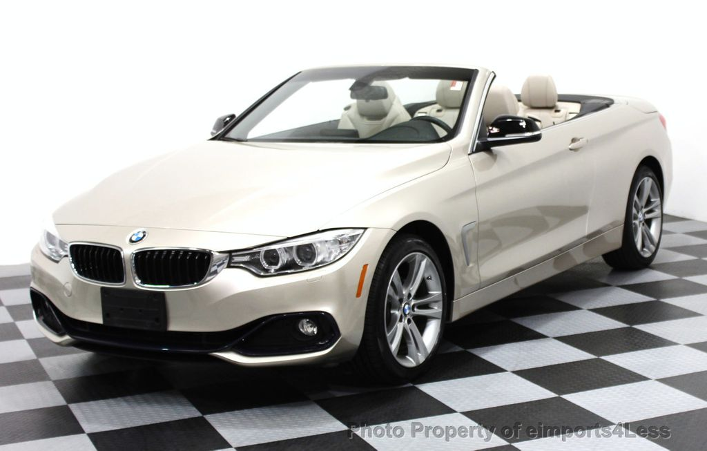 2014 BMW 4 Series CERTIFIED 428i xDRIVE SPORT PACKAGE CONVERTIBLE - 16369468 - 0