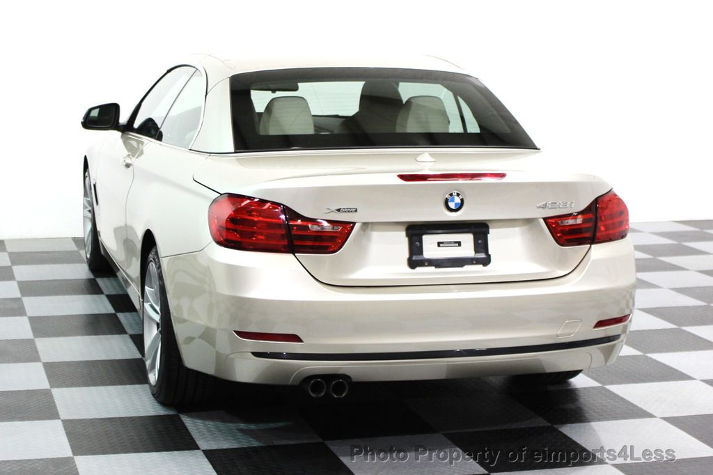 2014 BMW 4 Series CERTIFIED 428i xDRIVE SPORT PACKAGE CONVERTIBLE - 16369468 - 12