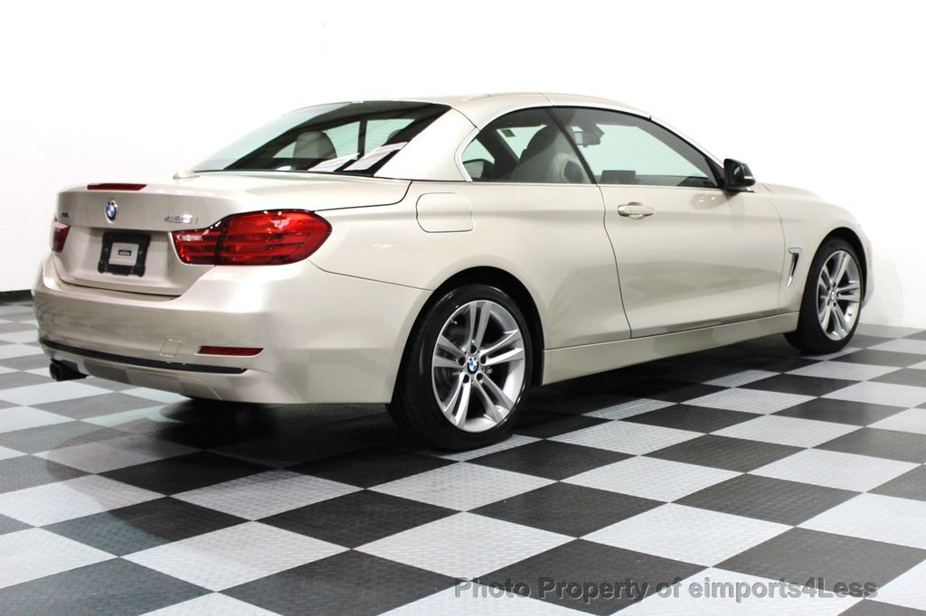 2014 BMW 4 Series CERTIFIED 428i xDRIVE SPORT PACKAGE CONVERTIBLE - 16369468 - 15
