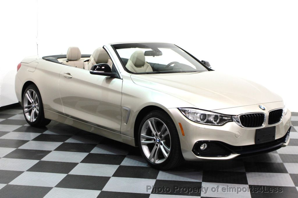 2014 BMW 4 Series CERTIFIED 428i xDRIVE SPORT PACKAGE CONVERTIBLE - 16369468 - 1