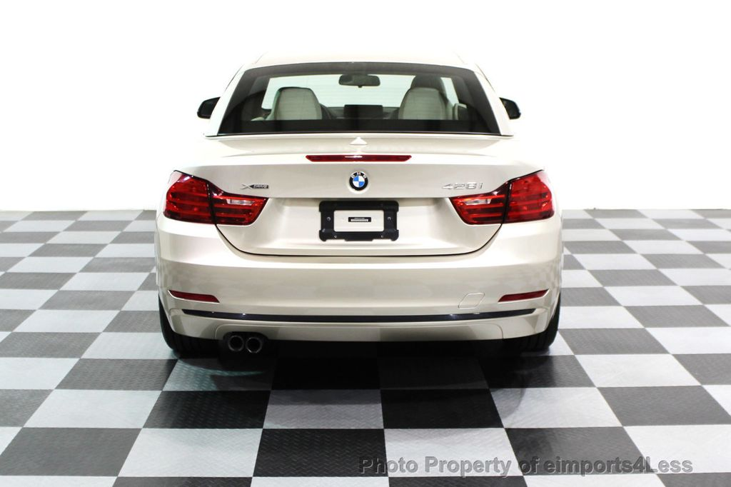 2014 BMW 4 Series CERTIFIED 428i xDRIVE SPORT PACKAGE CONVERTIBLE - 16369468 - 21