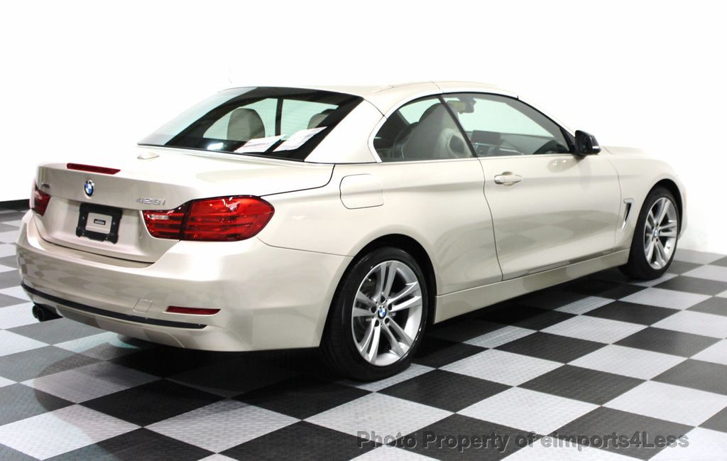 2014 BMW 4 Series CERTIFIED 428i xDRIVE SPORT PACKAGE CONVERTIBLE - 16369468 - 3