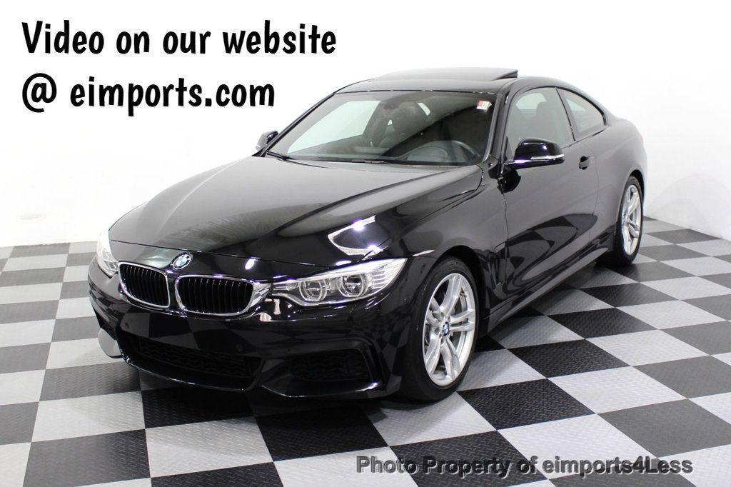 2014 BMW 4 Series CERTIFIED 435i M Sport 6 SPEED MANUAL TRANS CAMERA NAVI - 18051527 - 0