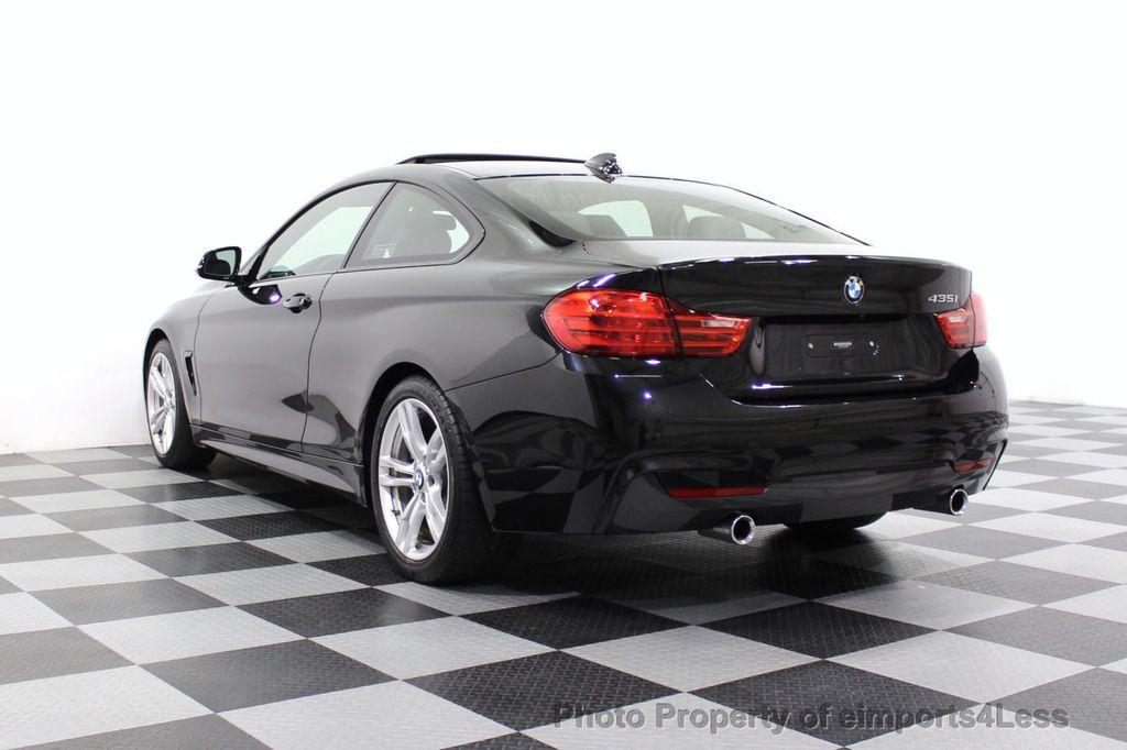 2014 BMW 4 Series CERTIFIED 435i M Sport 6 SPEED MANUAL TRANS CAMERA NAVI - 18051527 - 16