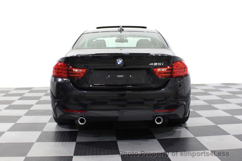 2014 BMW 4 Series CERTIFIED 435i M Sport 6 SPEED MANUAL TRANS CAMERA NAVI - 18051527 - 17
