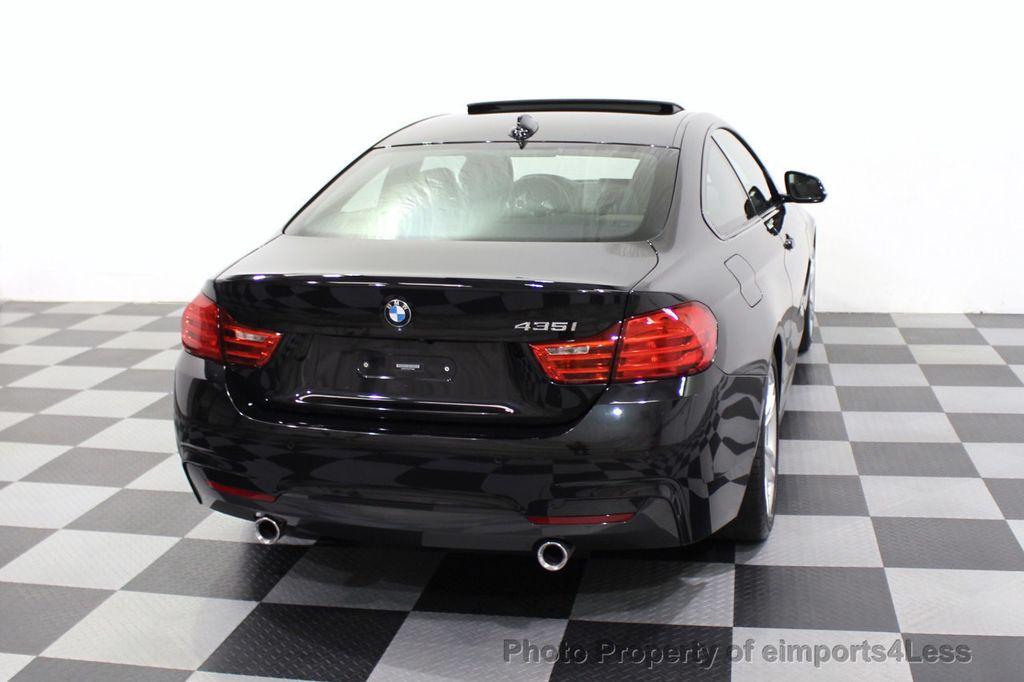 2014 BMW 4 Series CERTIFIED 435i M Sport 6 SPEED MANUAL TRANS CAMERA NAVI - 18051527 - 32