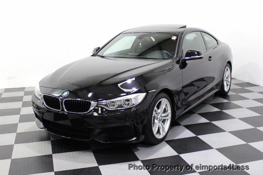 2014 BMW 4 Series CERTIFIED 435i M Sport 6 SPEED MANUAL TRANS CAMERA NAVI - 18051527 - 53