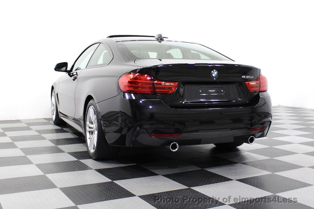 2014 BMW 4 Series CERTIFIED 435i M Sport 6 SPEED MANUAL TRANS CAMERA NAVI - 18051527 - 54