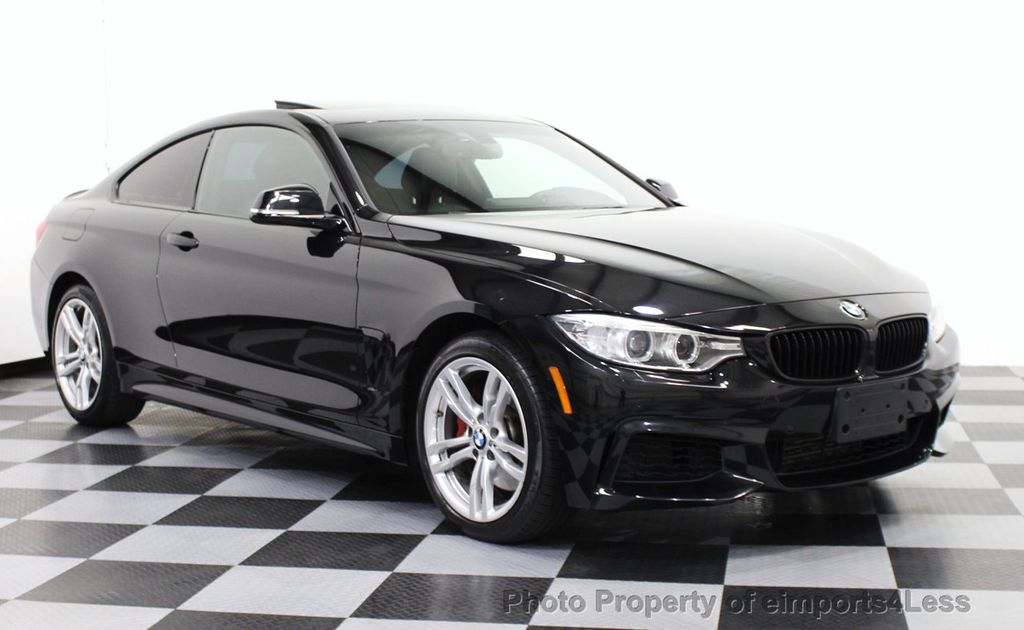 2014 BMW 4 Series CERTIFIED 435i XDRIVE AWD M Sport 6 SPEED COUPE