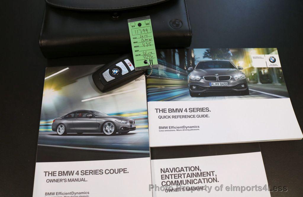 2014 BMW 4 Series CERTIFIED 435i xDRIVE AWD PREMIUM HK NAVI - 17048744 - 25