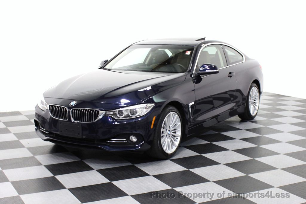 2014 BMW 4 Series CERTIFIED 435i XDRIVE Luxury Line AWD COUPE 6 Speed NAV