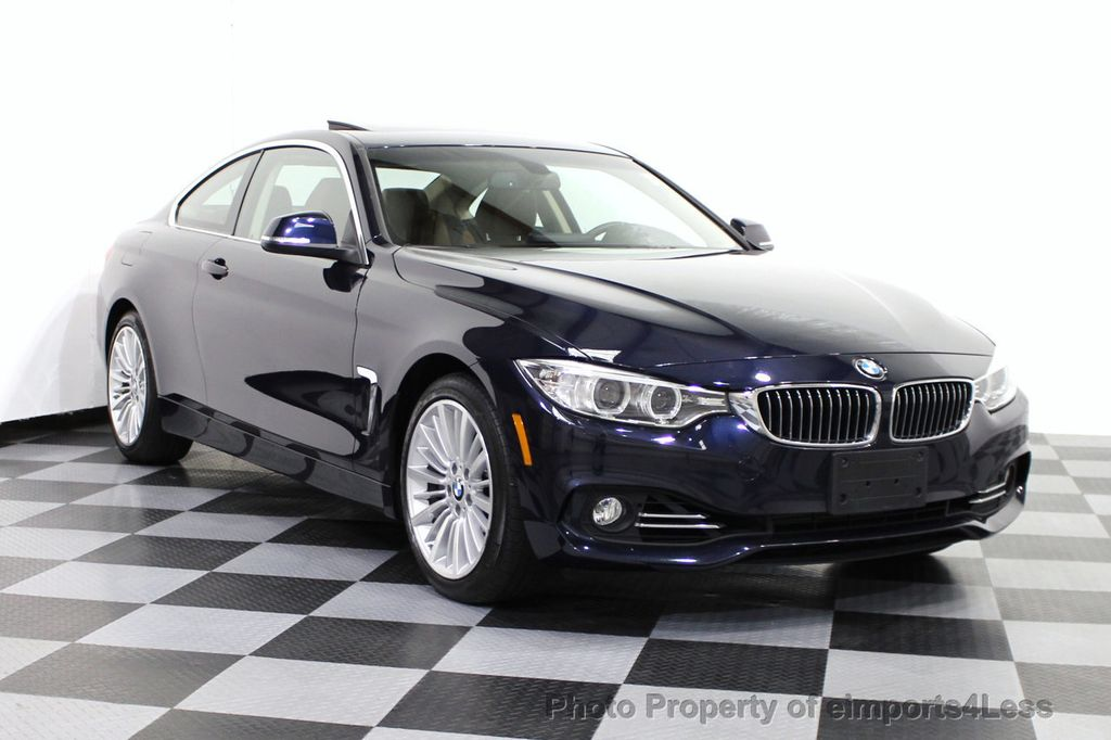 2014 used bmw 4 series certified 435i xdrive luxury line awd coupe 6 speed nav at. Black Bedroom Furniture Sets. Home Design Ideas