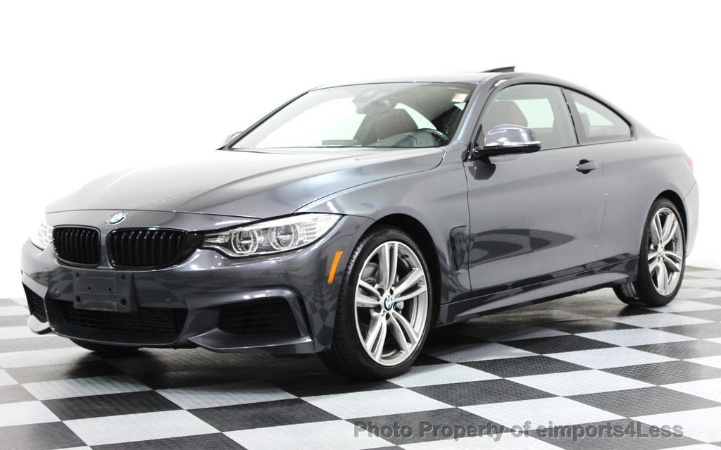 2014 BMW 4 Series CERTIFIED 435i xDRIVE M SPORT AWD 6 SPEED TECH / NAVI - 16417242 - 0