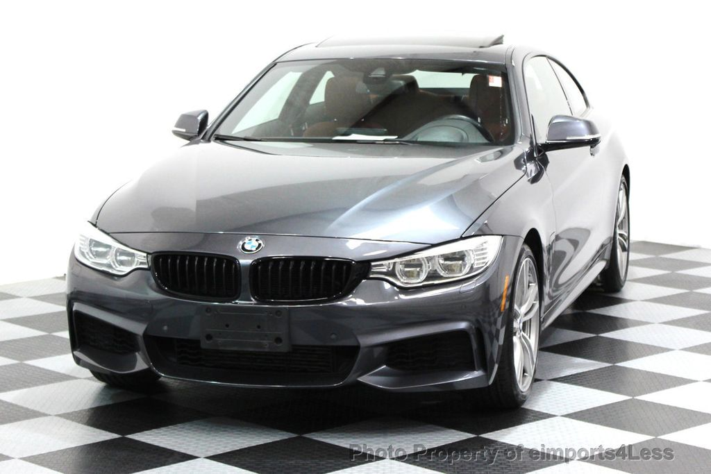 2014 BMW 4 Series CERTIFIED 435i xDRIVE M SPORT AWD 6 SPEED TECH / NAVI - 16417242 - 14