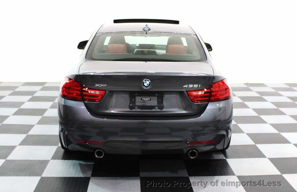 2014 BMW 4 Series CERTIFIED 435i xDRIVE M SPORT AWD 6 SPEED TECH / NAVI - 16417242 - 17
