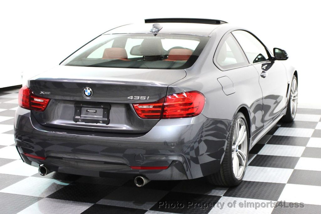 2014 BMW 4 Series CERTIFIED 435i xDRIVE M SPORT AWD 6 SPEED TECH / NAVI - 16417242 - 18