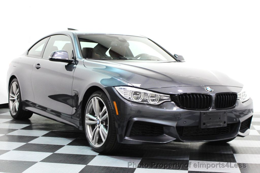 2014 BMW 4 Series CERTIFIED 435i xDRIVE M SPORT AWD 6 SPEED TECH / NAVI - 16417242 - 1