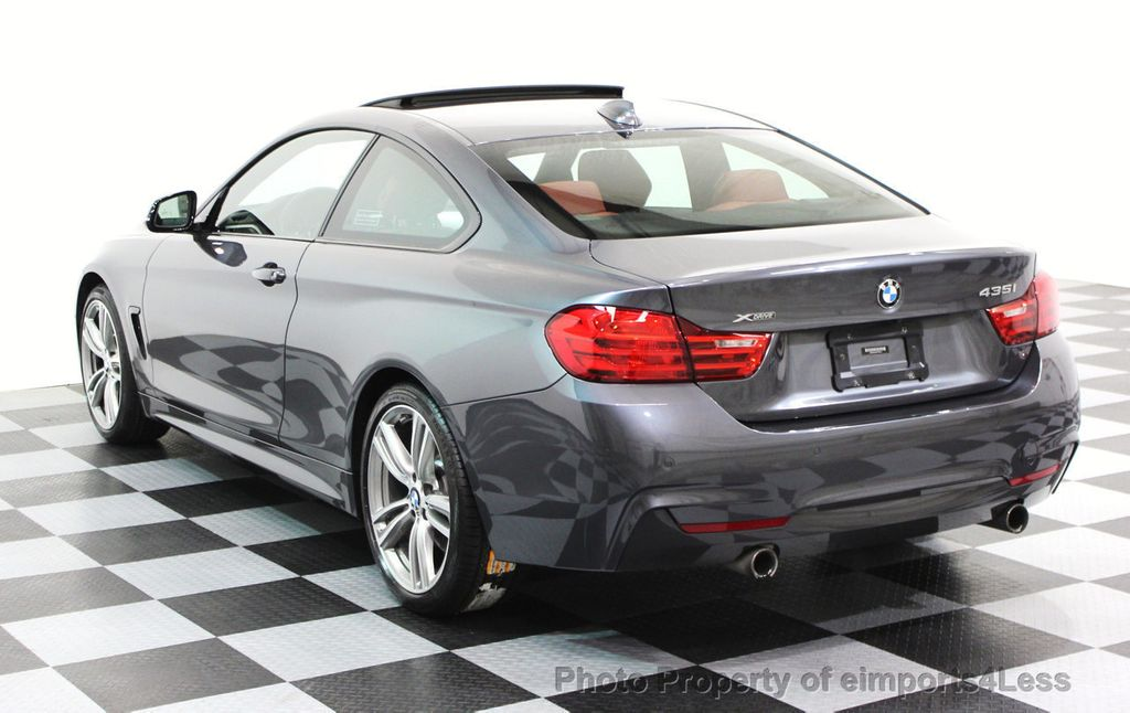 2014 BMW 4 Series CERTIFIED 435i xDRIVE M SPORT AWD 6 SPEED TECH / NAVI - 16417242 - 22