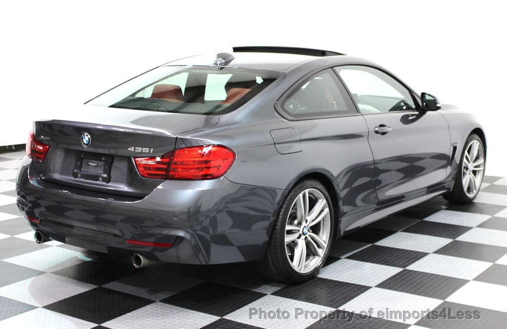 2014 BMW 4 Series CERTIFIED 435i xDRIVE M SPORT AWD 6 SPEED TECH / NAVI - 16417242 - 24