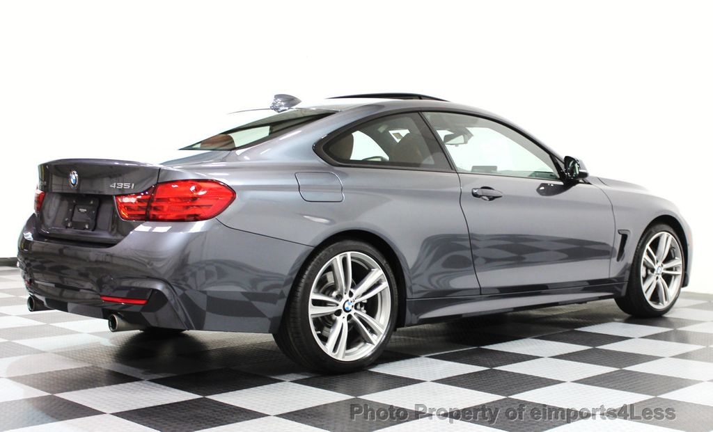 2014 BMW 4 Series CERTIFIED 435i xDRIVE M SPORT AWD 6 SPEED TECH / NAVI - 16417242 - 25