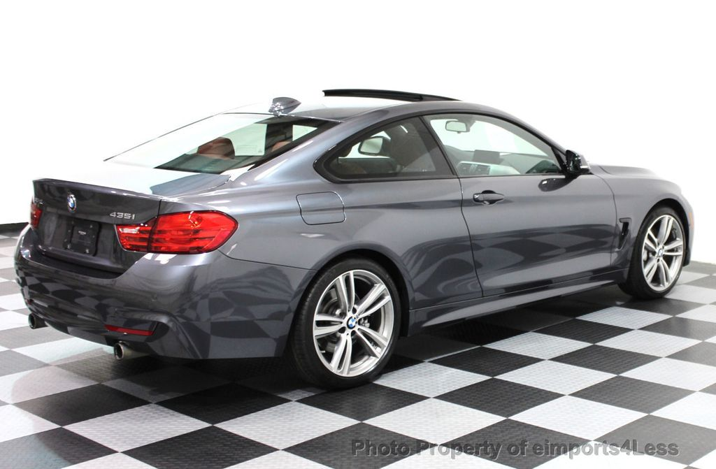 2014 BMW 4 Series CERTIFIED 435i xDRIVE M SPORT AWD 6 SPEED TECH / NAVI - 16417242 - 2