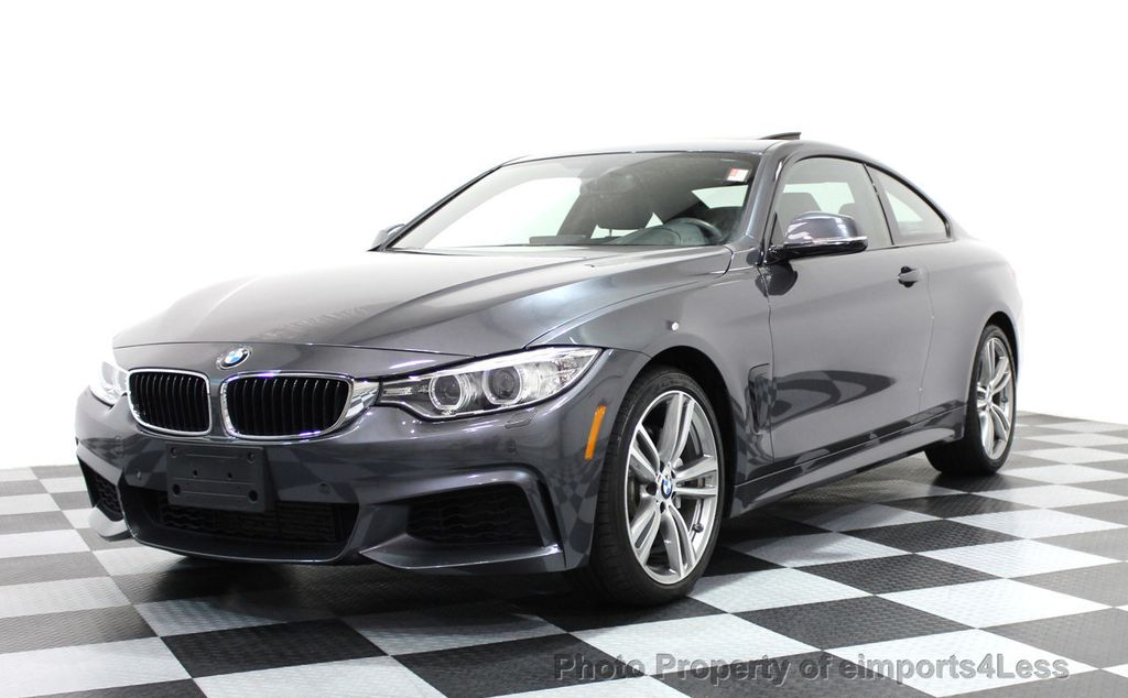 2014 BMW 4 Series CERTIFIED 435i xDRIVE M SPORT AWD COUPE Dynamic / NAV - 15807313 - 0