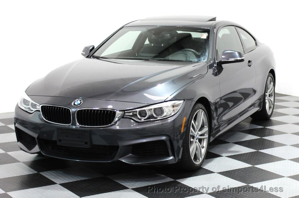 2014 used bmw 4 series certified 435i xdrive m sport awd coupe dynamic nav at eimports4less. Black Bedroom Furniture Sets. Home Design Ideas