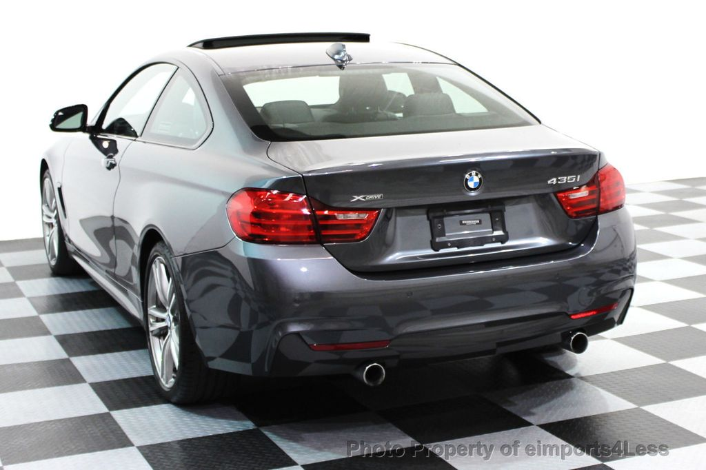 2014 BMW 4 Series CERTIFIED 435i xDRIVE M SPORT AWD COUPE Dynamic / NAV - 15807313 - 28