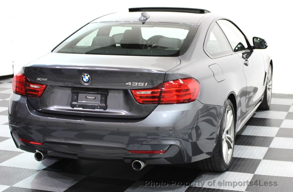 2014 BMW 4 Series CERTIFIED 435i xDRIVE M SPORT AWD COUPE Dynamic / NAV - 15807313 - 44