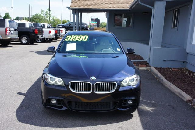 2014 Used BMW 5 Series 550i at Maaliki Motors Serving Aurora, Denver, CO,  IID 19173173