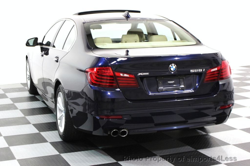 2014 BMW 5 Series CERTIFIED 528i xDRIVE AWD CAMERA NAVIGATION - 16238012 - 17