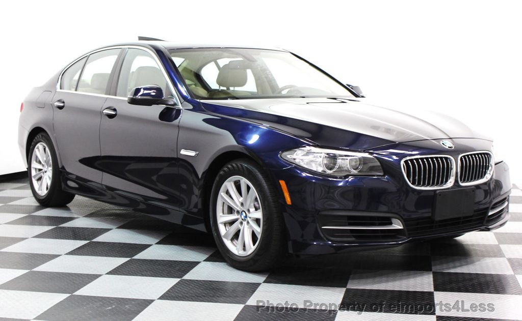 2014 BMW 5 Series CERTIFIED 528i xDRIVE AWD CAMERA NAVIGATION - 16238012 - 1