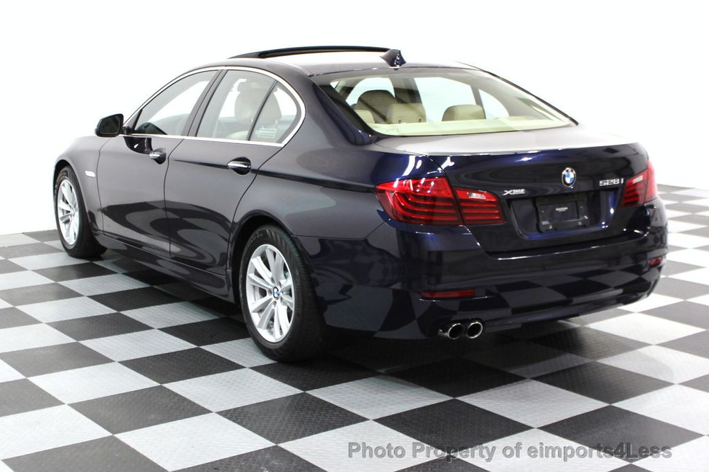 2014 BMW 5 Series CERTIFIED 528i xDRIVE AWD CAMERA NAVIGATION - 16238012 - 24