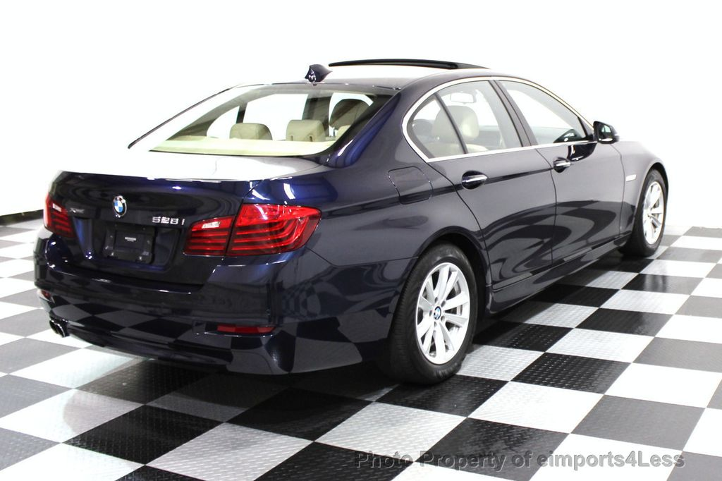2014 BMW 5 Series CERTIFIED 528i xDRIVE AWD CAMERA NAVIGATION - 16238012 - 27