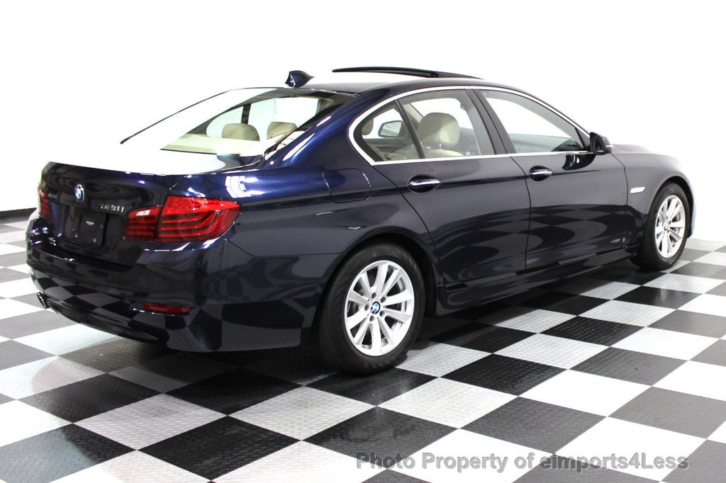 2014 BMW 5 Series CERTIFIED 528i xDRIVE AWD CAMERA NAVIGATION - 16238012 - 3