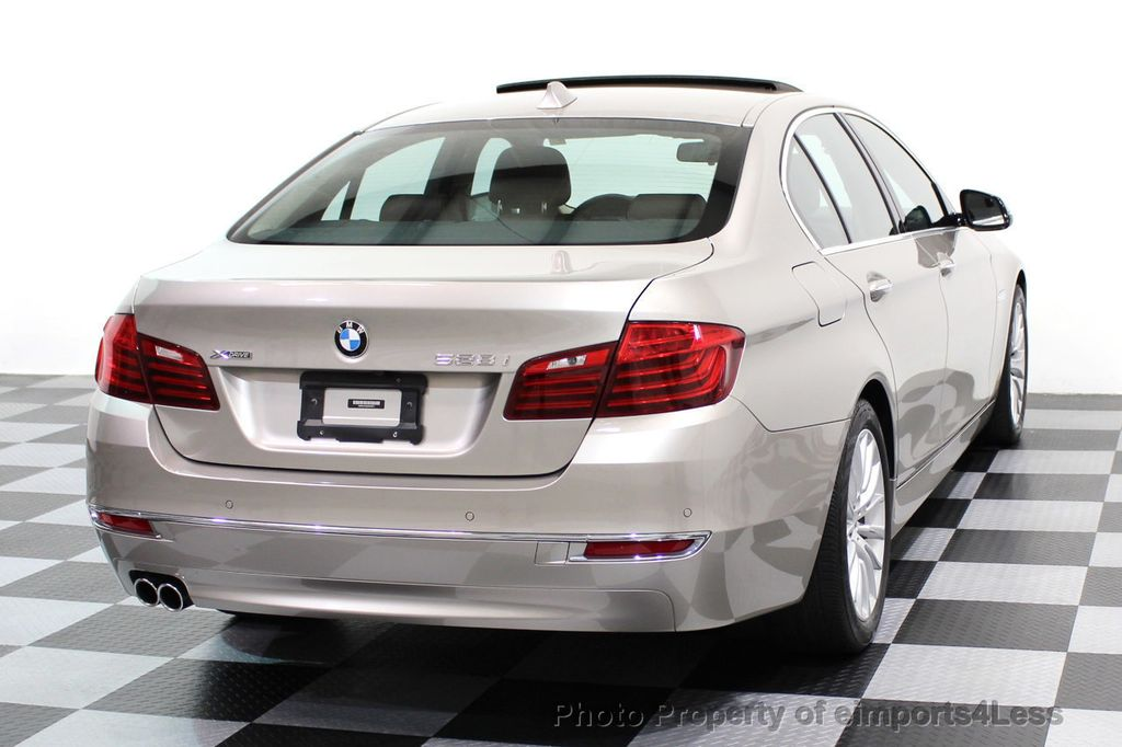 2014 BMW 5 Series CERTIFIED 528i xDRIVE Luxury Line AWD CAMERA NAVI - 16774897 - 3