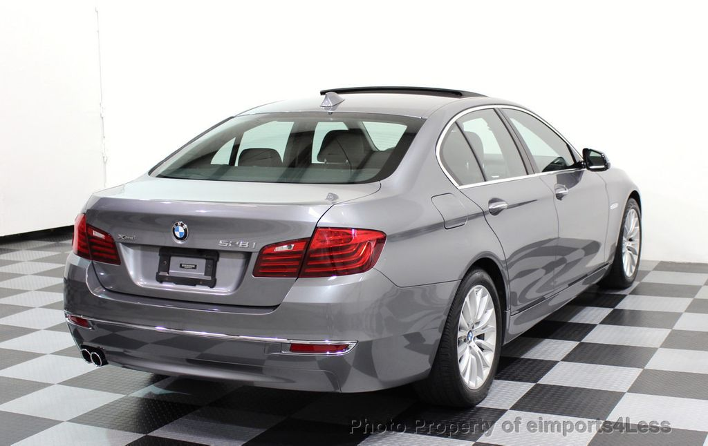 2014 BMW 5 Series CERTIFIED 528i xDRIVE Luxury Line AWD CAMERA NAVIGATION - 16816481 - 17