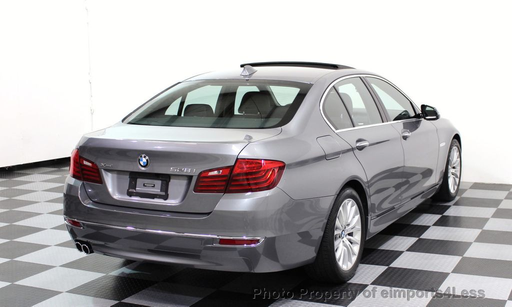 2014 BMW 5 Series CERTIFIED 528i xDRIVE Luxury Line AWD CAMERA NAVIGATION - 16816481 - 3