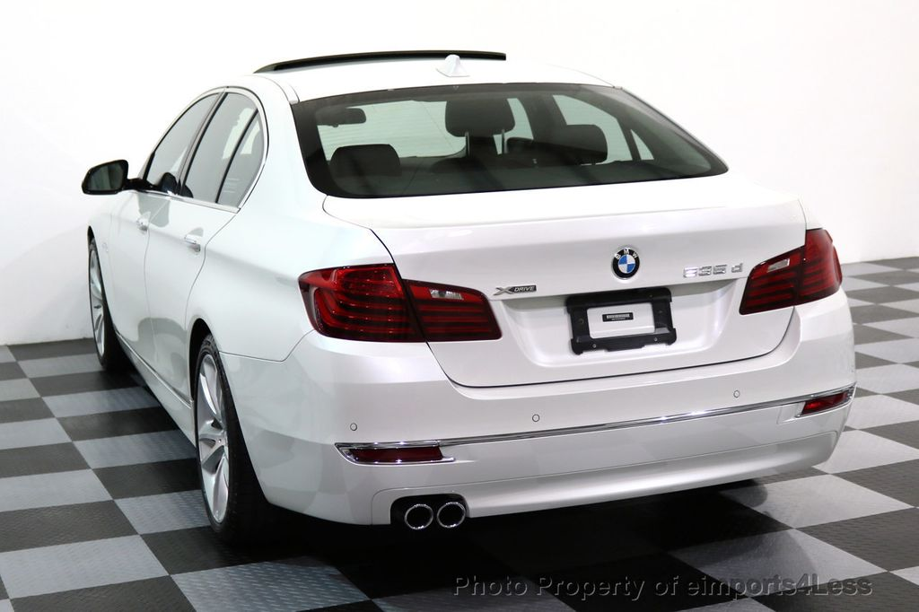 2014 BMW 5 Series CERTIFIED 535d xDRIVE LUXURY LINE Turbo Diesel AWD  - 16935806 - 29