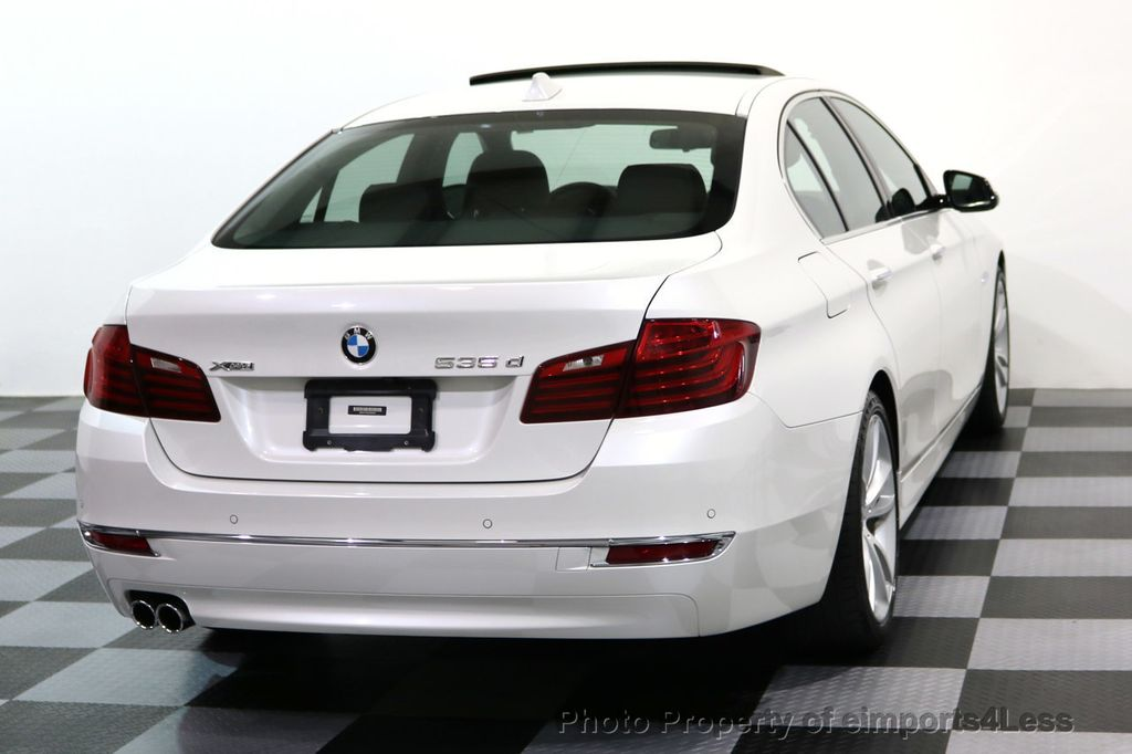 2014 BMW 5 Series CERTIFIED 535d xDRIVE LUXURY LINE Turbo Diesel AWD  - 16935806 - 31