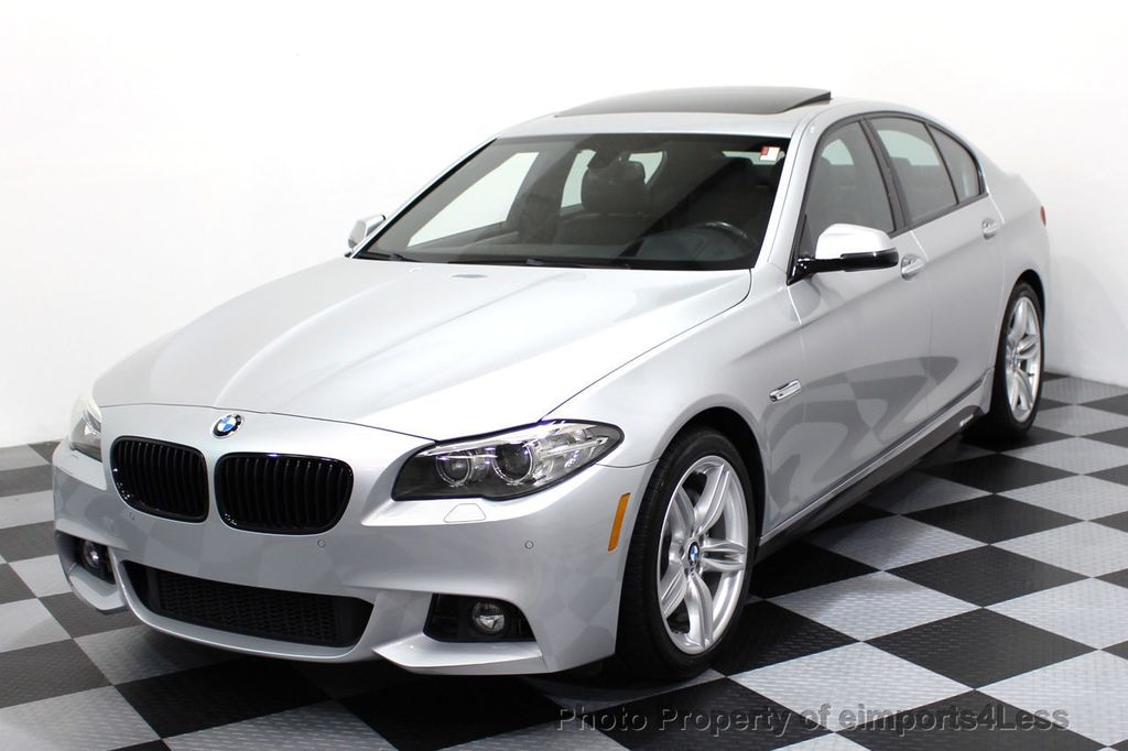 2014 BMW 5 Series CERTIFIED 535i M Sport Package CAMERA / HUD / NAVI - 16006726 - 0